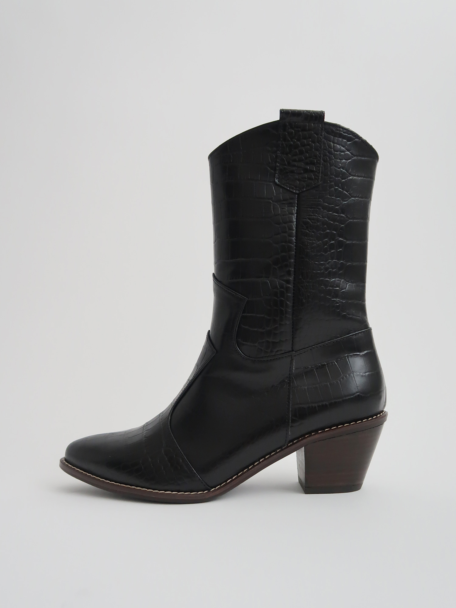 majo western boots black