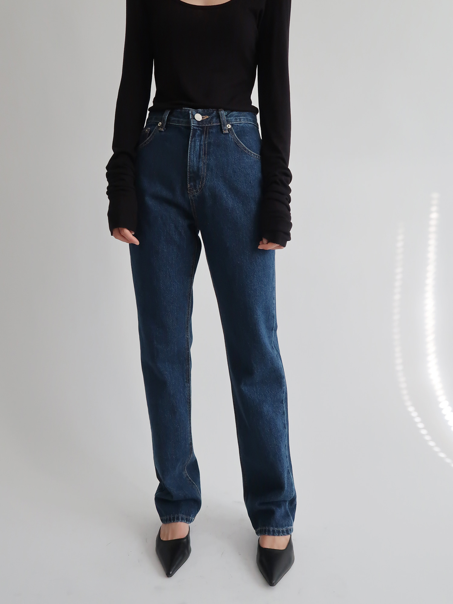 long denim (blue)