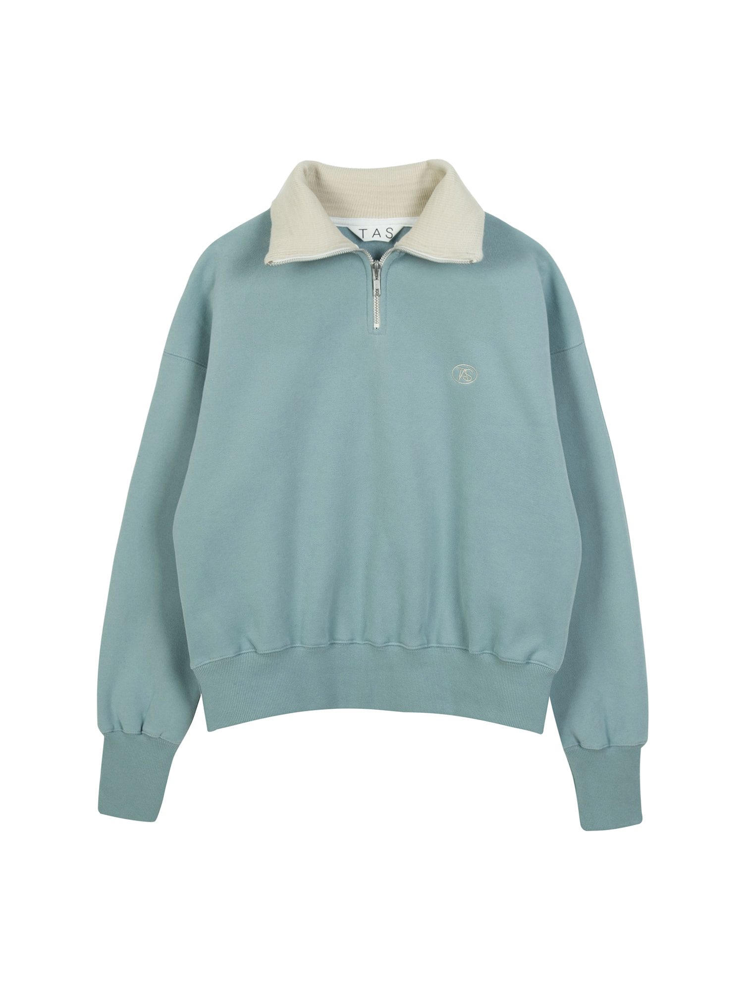 tas zip up sweat shirt (Mint)